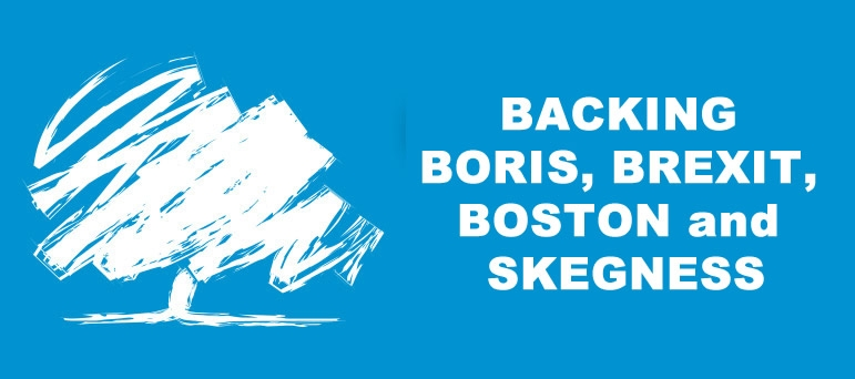Backing Boris Brexit boston and Skegness